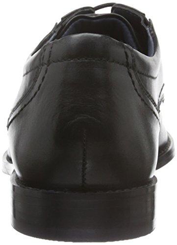 s.Oliver 13208, Zapatos de Cordones Oxford para Hombre Negro (BLACK 1)