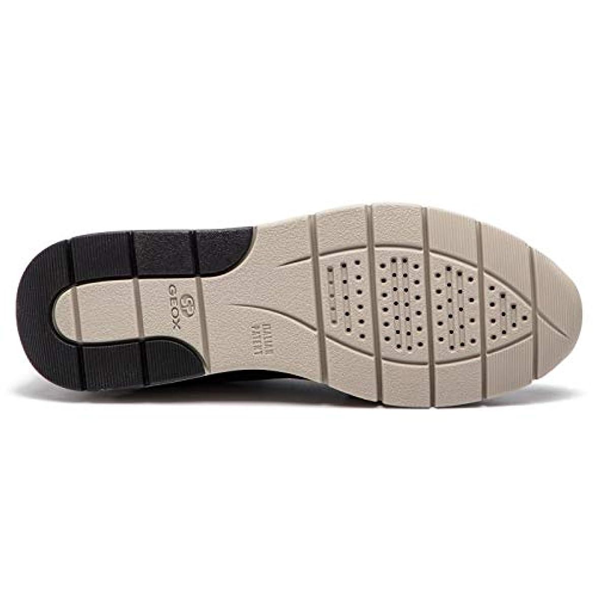 Geox Scarpe Da Donna Sneakers D Callyn In Tessuto Nero D849gd-0ewhh-c9999