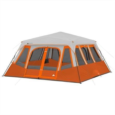 Ozark Trail 14-Person 2 Room Instant Cabin Tent, Orange