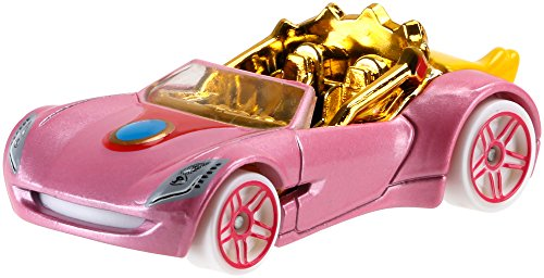 Hot Wheels Mario Bros. Princess Peach Car -