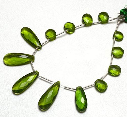 GemAbyss Beads Gemstone 1 Strand Natural Peridot
