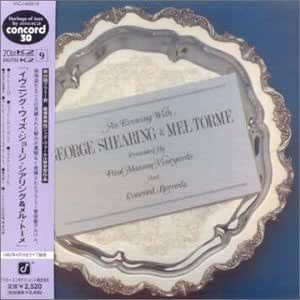 Evening With George Shearing & Mel Torme