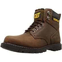 "Caterpillar Men's 2nd Shift 6"" Plain Soft-Toe Work Boot"