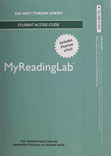 MyLab Reading with Pearson eText -- Standalone Access Card