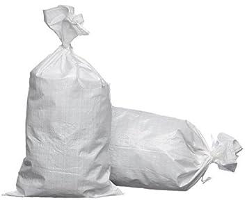 eSandbags - vacía bolsas de arena (arena (polipropileno, con ...