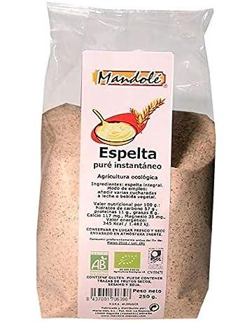 Mandolé - Puré instantáneo (papilla) Espelta Integral Mandolé, 250g