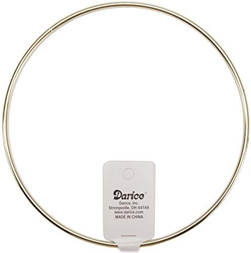"Price comparison product image Nceonshop(TM) Metal Macrame Ring Gold 6"" 1719"
