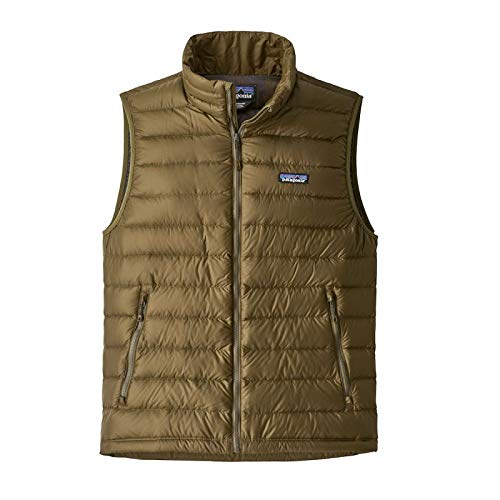 Patagonia Down Sweater Vest - Patagonia Men's Down Sweater Vest Cargo Green (Large)