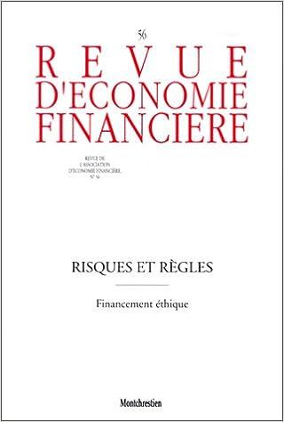 Risques et règles. Financement éthique pdf, epub ebook