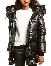 Womens Series by Nicole Benisti Massif Wool-Blend Down Coat, L