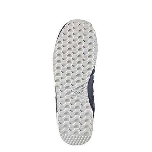 adidas ZX 700, Zapatillas Unisex Niños Blanco-Azul marino