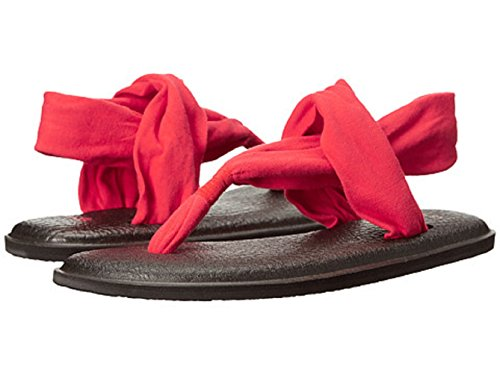Red M Bright B Women's Us Yoga Sling 2 Eu 9 Sp17 m Sanuk 40 Y1TwqO1