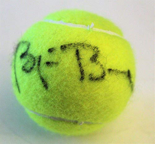Borg Tennis Bjorn Ball - Bjorn Borg Signed Brand New Tennis Ball W/COA Laver Cup - Tennis Autographed Miscellaneous Items