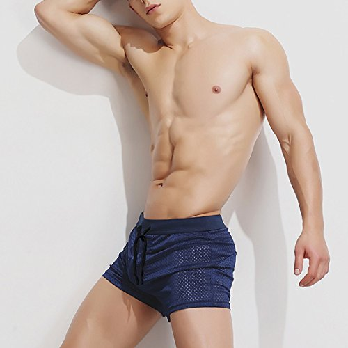 Maillots Bain Bleu Boxer Surf Mesh Sexy moichien Ai Hommes Marin Shorts De Beach Pantalons 0wqz1UZ7x