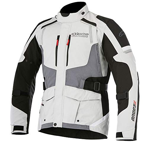 Alpinestars Andes v2 Drystar Jacket (LARGE) (LIGHT GREY/BLACK/DARK GREY)