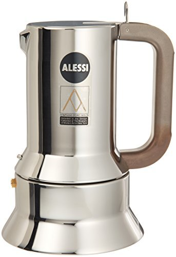 Richard Sapper Espresso Coffee Maker Size: 10 Cup by Alessi