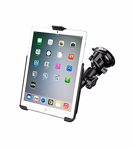 RAM Compatible with APPLE Mount Suction Cup Mount w/Apple iPad mini EZ-ROLL'R Cradle