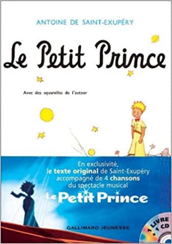 Le Petit Prince 1 Livre 1 Cd Audio Antoine De Saint
