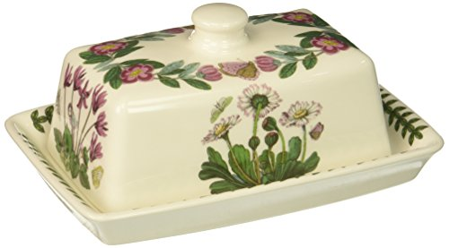 Sugar Garden Bowl Botanic Covered - Portmeirion Botanic Garden Covered Butter Dish