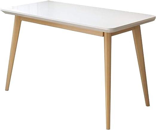 XUERUI Mesas Mesas Mueble Madera Computadora Escritorio, Sólido ...