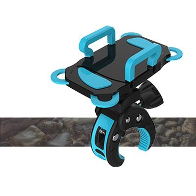 Bike Phone Mount Bicycle Holder, Universal Cradle Clamp for iOS Android Smartphone GPS other Devices