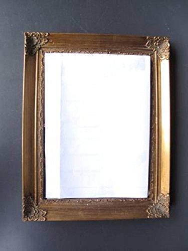 Espejo de pared Oro 60 x 90 cm Espejo métrica Antiguo Estilo ...