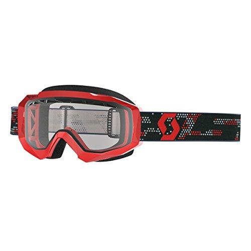 Hustle VTT Rouge Noir Cross Lunettes Scott Transparent Enduro Masque de MX B0wBpdq