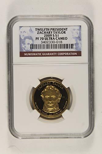 2009 S Zachary Taylor Pesidential Commemorative $1 PF70 Ultra Cameo NGC