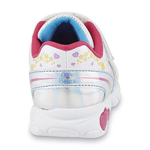 Care Bears Kinder Mädchen Turnschuhe Sneakers Glücksbärchen Blink Licht Schuhe