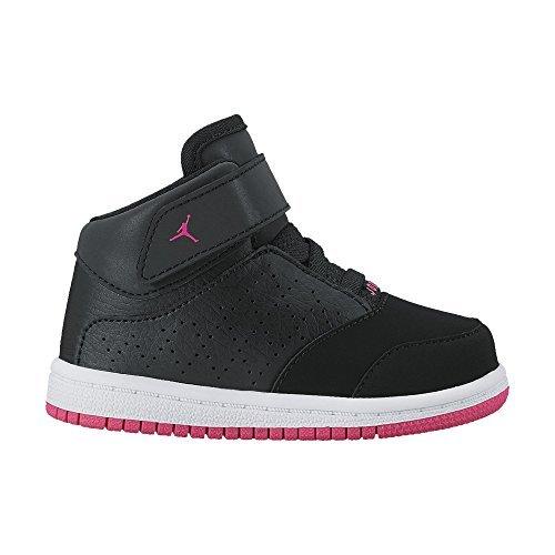 - NIKE Jordan Toddler's 1 Flight 5 Premium (GT) Black/Hyper Pink-White 881437 002 (7c)