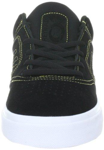Emerica REYNOLDS 3 6102000011 - Zapatillas de skate de ante para hombre Negro (Black/Gold)