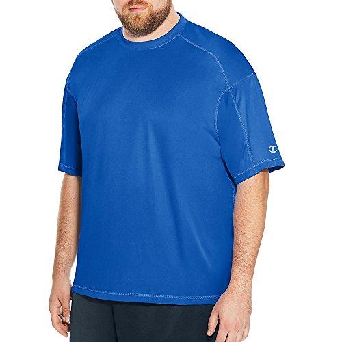 (Champion Men's Big & Tall Short Sleeve Crewneck Tee)