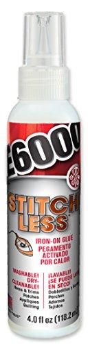 E6000 565304 Stitchless Adhesive, 4 fl oz Shelf - Glue On Fabric Patches