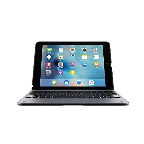 Incipio ClamCase+ Backlit Bluetooth Keyboard Case for iPad Pro 9.7 (2016 only) - Space Gray