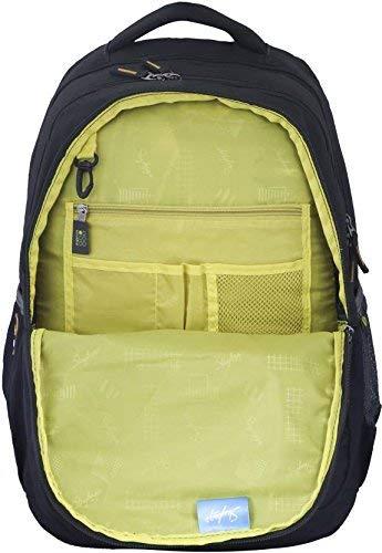Skybags Bingo Extra 35.5005 Ltrs Green School Backpack (SBBIE01GRN)