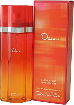 Latin Light By Oscar De La Renta For Women. Eau De Toilette Spray 3.4 Ounces