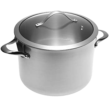 Amazon Com Calphalon Contemporary Stainless 8 Quart