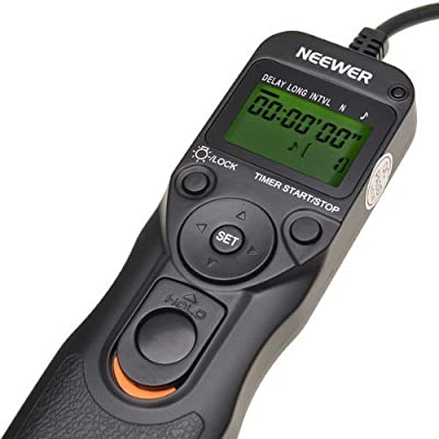 Neewer Timer Remote for Canon 50D, 40D, 30D, 20D, 10D, 5D,1Ds Mark III, 1D Mark III, 1D Mark II N, 1Ds Mark II,1D, 1V, EOS 3, D2000 by Neewer