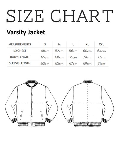 Jacket Mystery white Varsity Heather Things Falls Men's Stranger Grey Gravity SSrqY