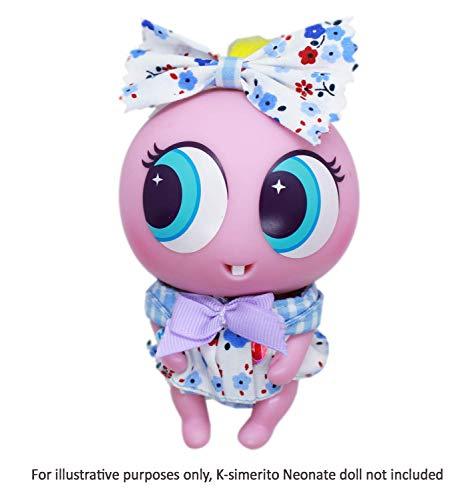 Distroller Ksimerito Purple Dress - Nerlie Neonate Baby Doll Accesories