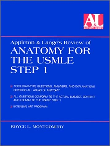 Appleton And Langes Review Of Anatomy For The Usmle Step 1