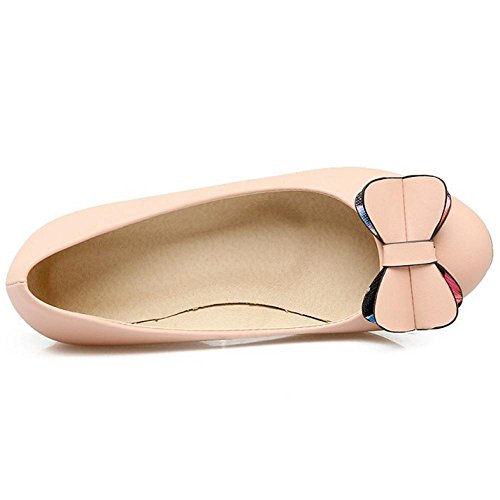 Pink Chila Sweet Pumps Slip Women Zuban Wedges On vav4O0q