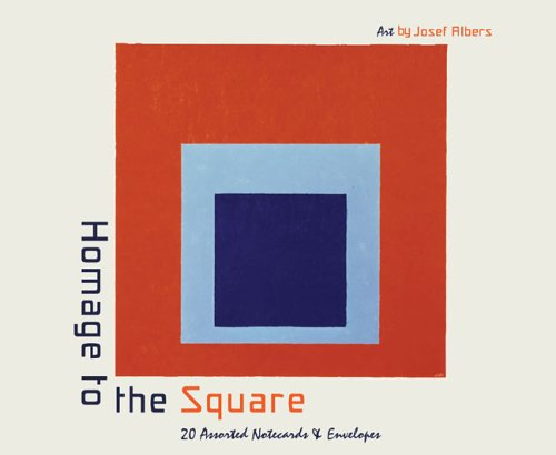 Homage to the Square Notecards