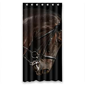 "Strong brown horse Shower Curtain Measure 36""(w)¡Á72""(h)"
