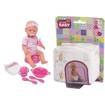 Born Baby Funktions-Baby-Puppe Simba 105039005 43cm günstig kaufen