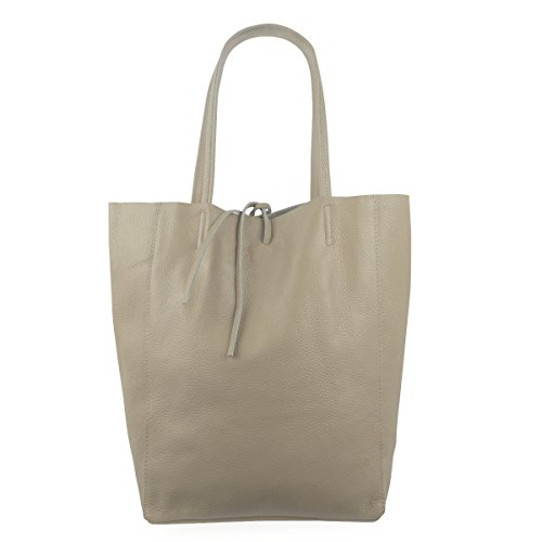 FreyFashion - Made in Italy Women's Tote Bag beige