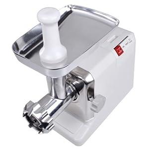 Electric 2.6 HP 2000 Watt Industrial Meat Grinder Butcher Shop 3 Cutting Blades