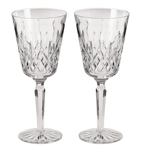Waterford Crystal Lismore Tall Goblets, Set of 2 by Waterford (Image #1)