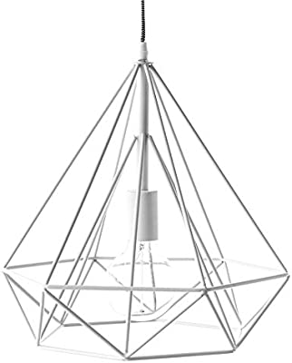 Kenay Home Lámpara techo Blanco: Amazon.es: Iluminación