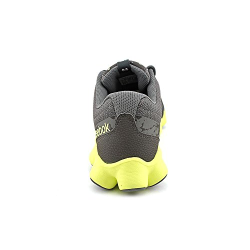 Reebok Men's ATV19 Trail Running Shoe,Rivet Grey/Gravel/Neon Yellow/Black,11 M US